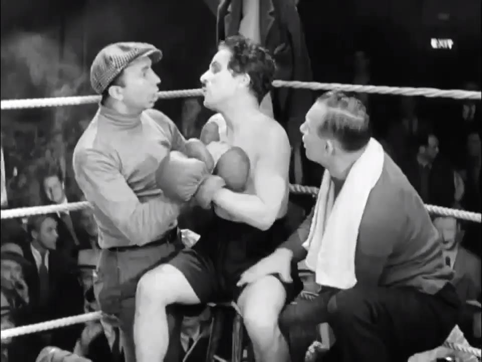 Charlie Chaplin Boxe